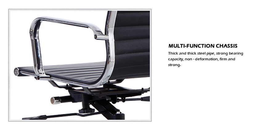High back executive boss office chair with Footrest Item 7115