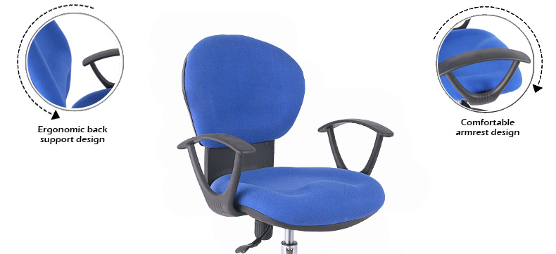2019 new fabric office chair staff chairs wholesale