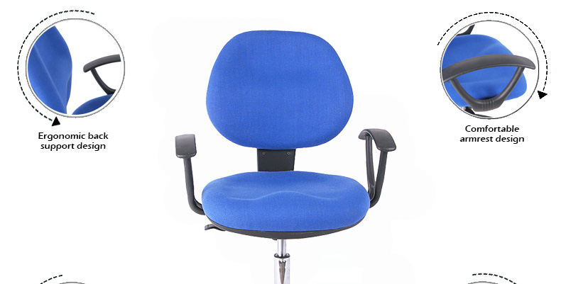 cheap hot sale comfortable fabric office staff chair