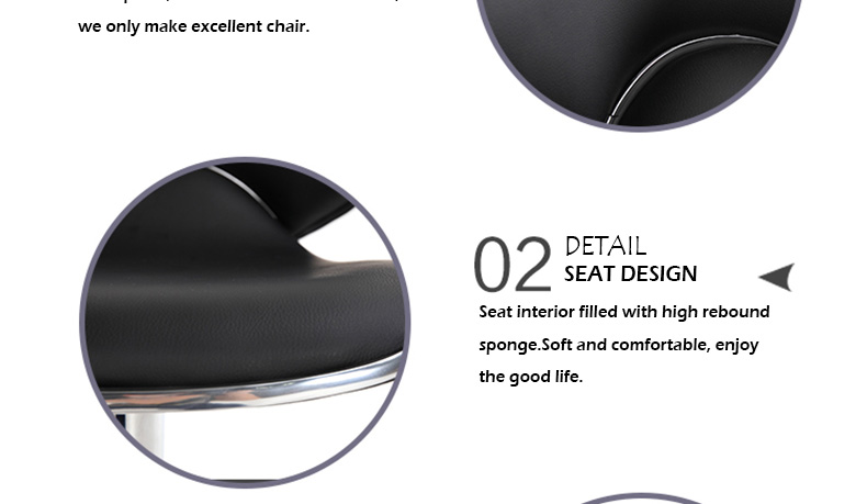 high quality modern leather bar chair wholesale
