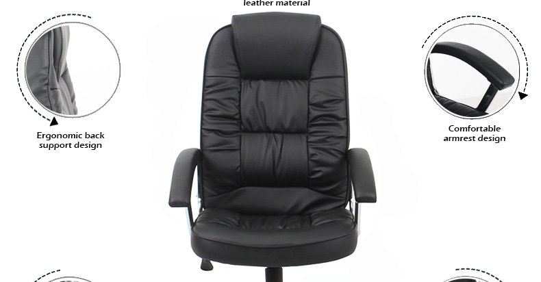 cheap hot selling swivel leather office chair online