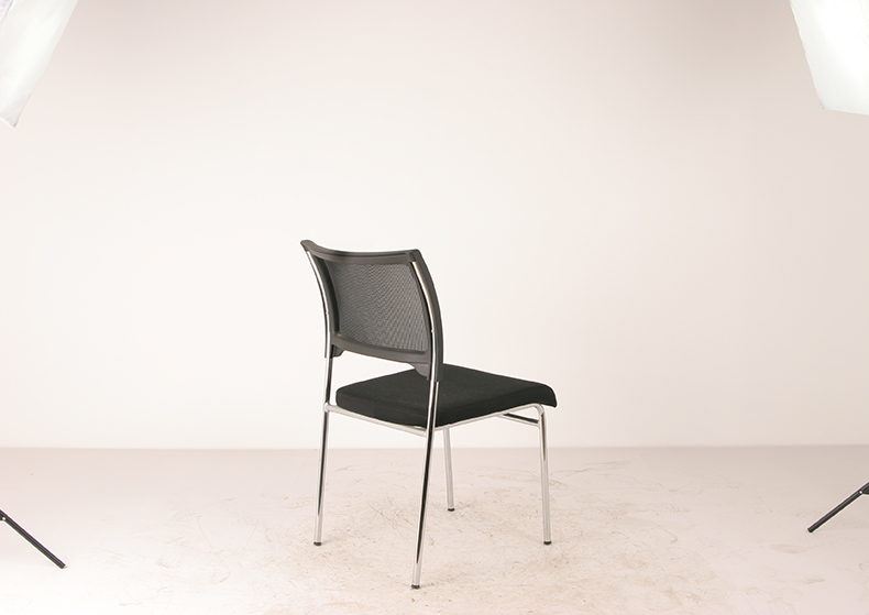leather and mesh low price guest office visitor chair