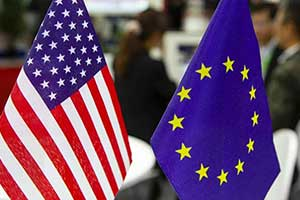 The United States will impose tariffs on $3.1 billion of European products