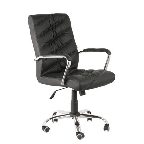 Leather Office Visitor Chair