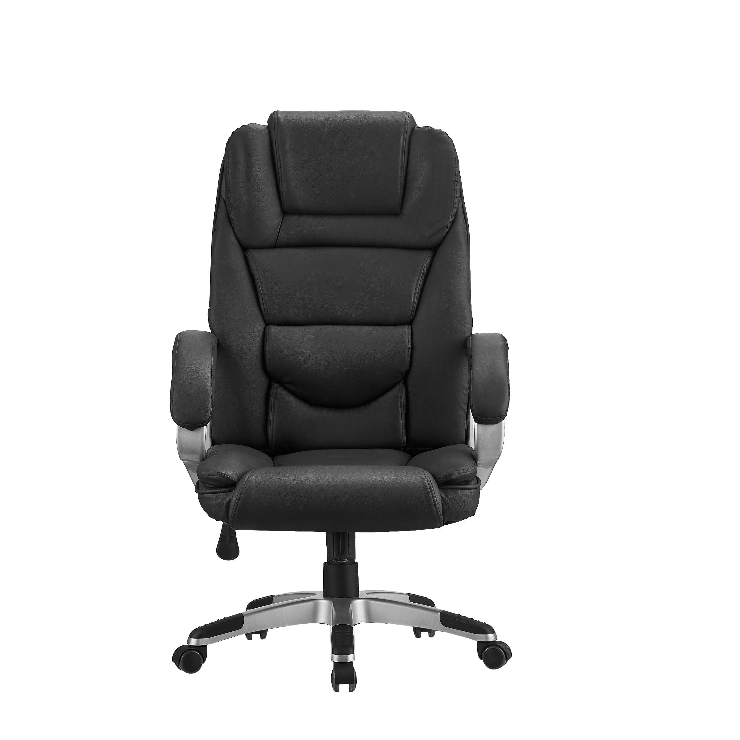 Wholesale black leather office chair high quality office chair is suitable for online sales produced by Chinese factories
