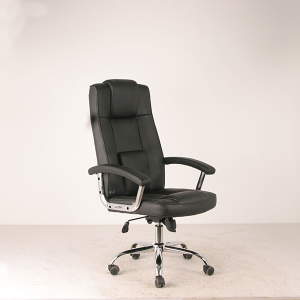 modern cheap leather office chair executive office chair item 7122. Black Bedroom Furniture Sets. Home Design Ideas