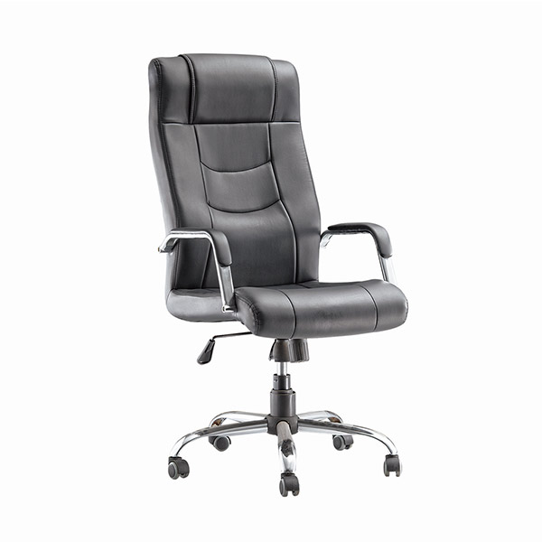 2018 China Hot Sale Furniture Online Black Leather Office Chair Item B-001