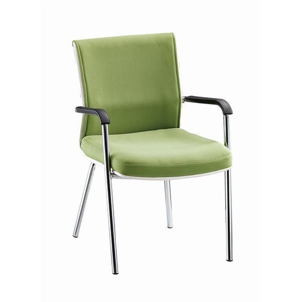 Fashionable Green Fabric Visitor  Chair BF-098B