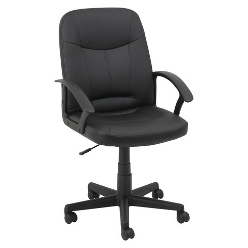 handsome wheeled ergonomic computer desk chair-LH116
