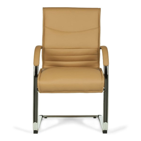 Bow Comfortable Leather Dining Chair BH57