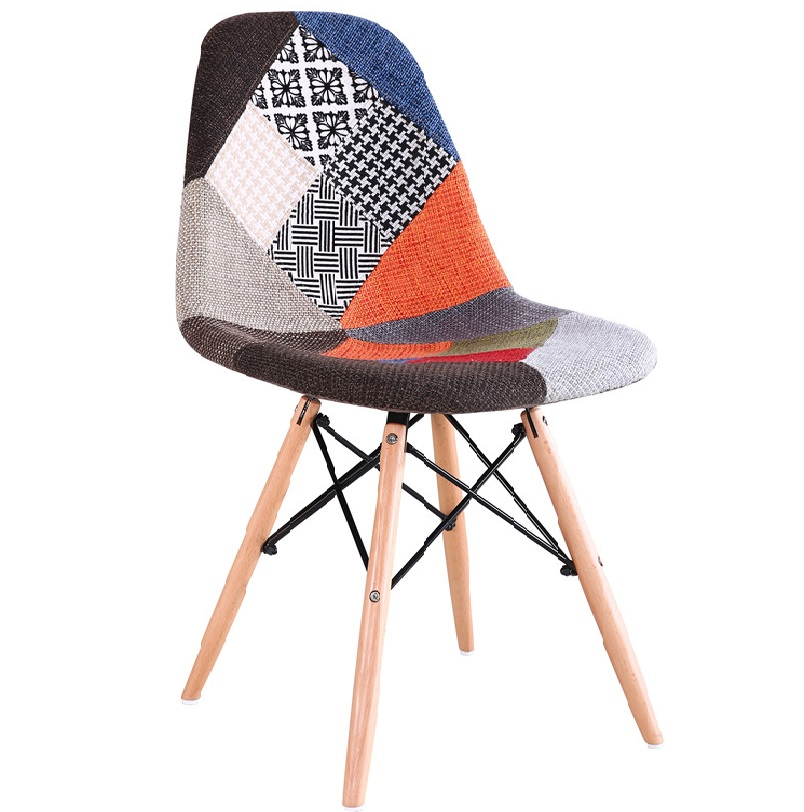 fabric eames stuhl  chair and ottoman for sale