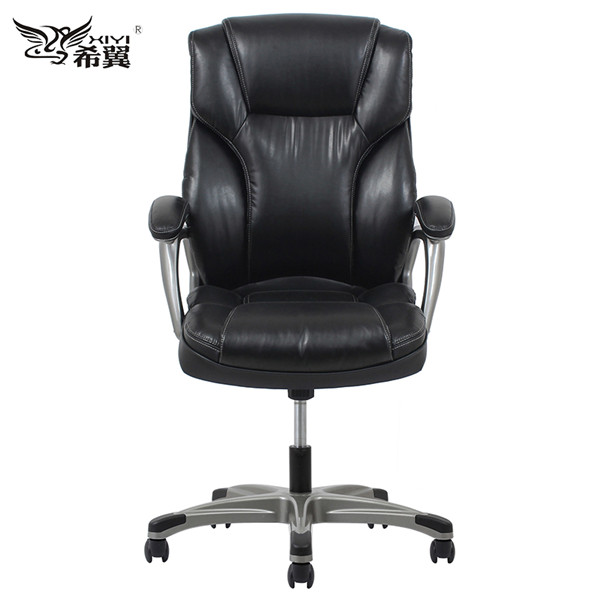 Black  ergonomic office chair produce china furniture market-LH57