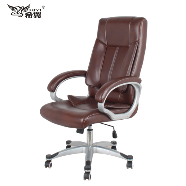 High Quality Boss Leather Swiveling Chair LH-182