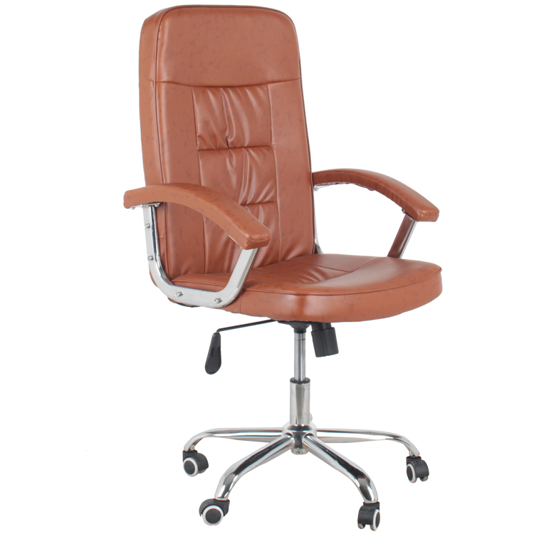 High-Back Adjustable leather executive Office Chair  Item 9923