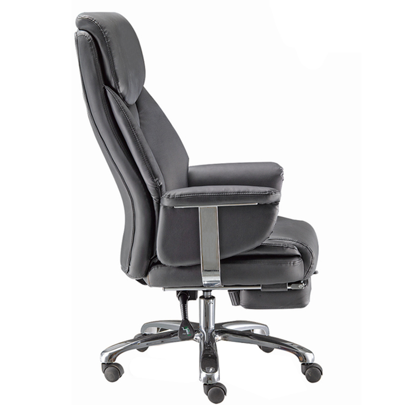 Office Recliner Racing Leather Executive Computer Chair Footrest Item 7115