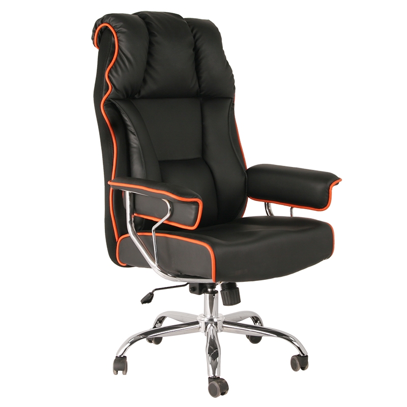Fashion Leather Office Chair With Swivel Function 7114