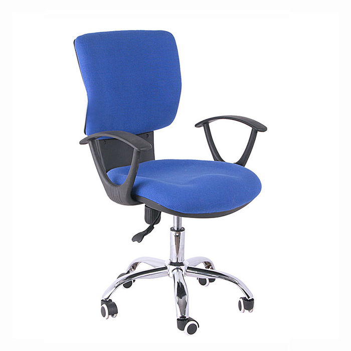 hot selling blue fabric executive staff office chair