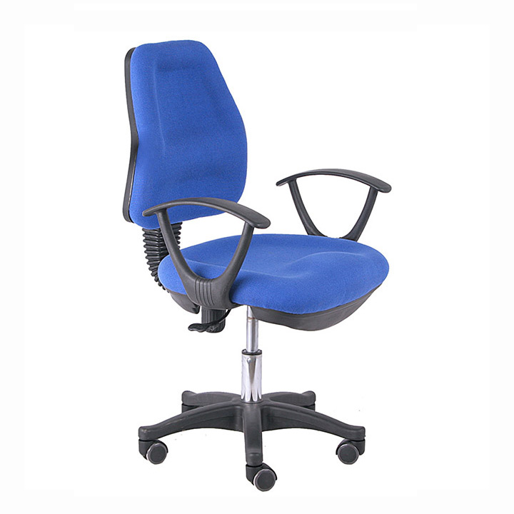 high quality swivel lift fabric office staff chair