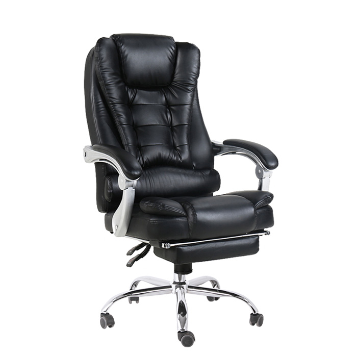 ergonomic leather executive boss sleep office chair