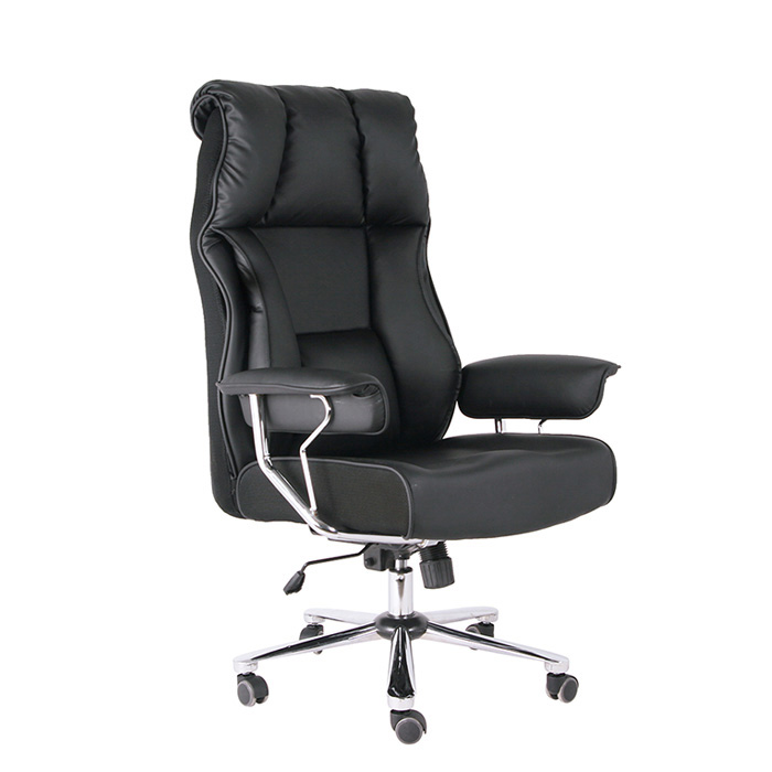 high quality ergonomic leather manager office chair