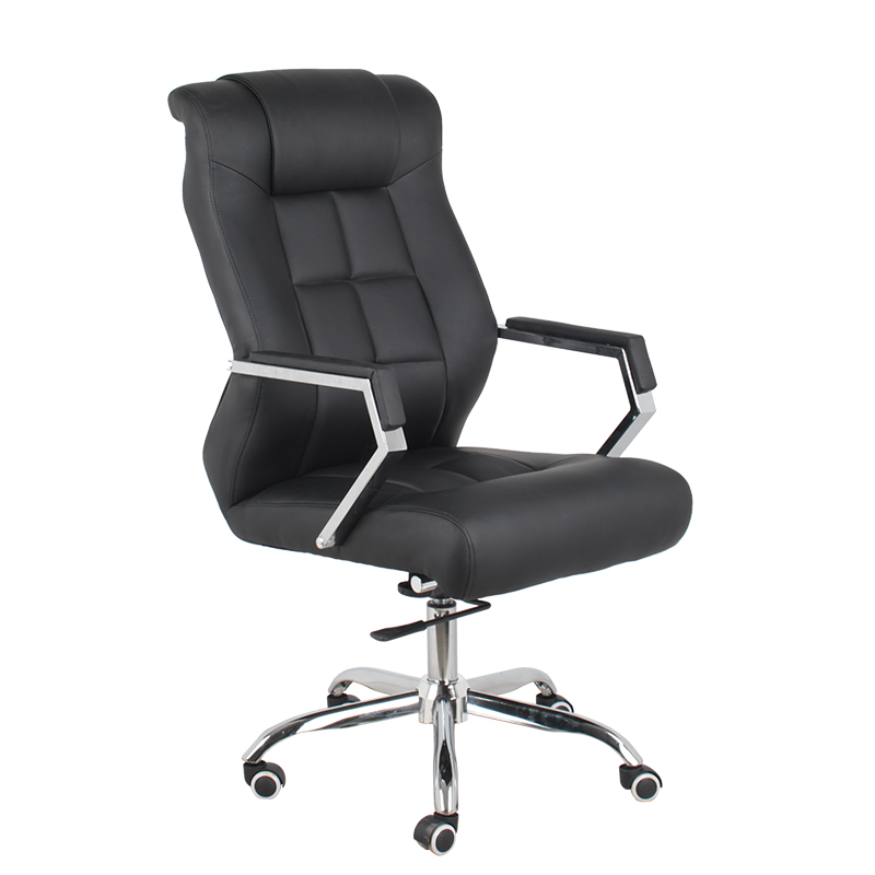 swivel leather executive office chair low price