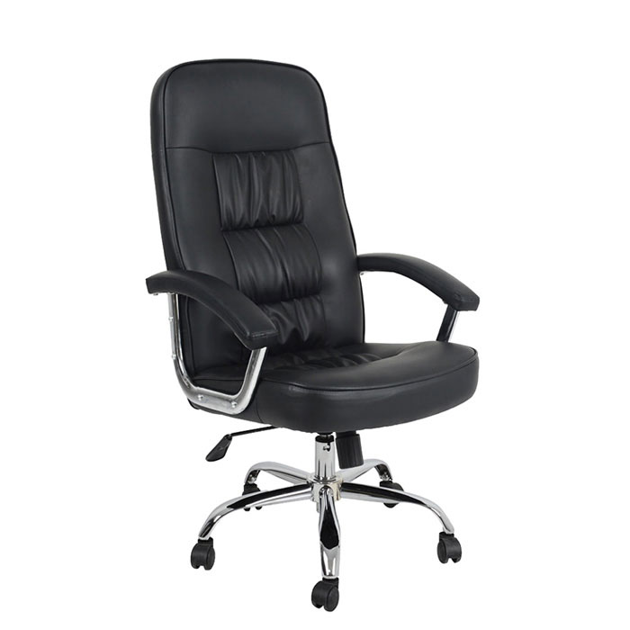 modern high back leather swivel executive office chair