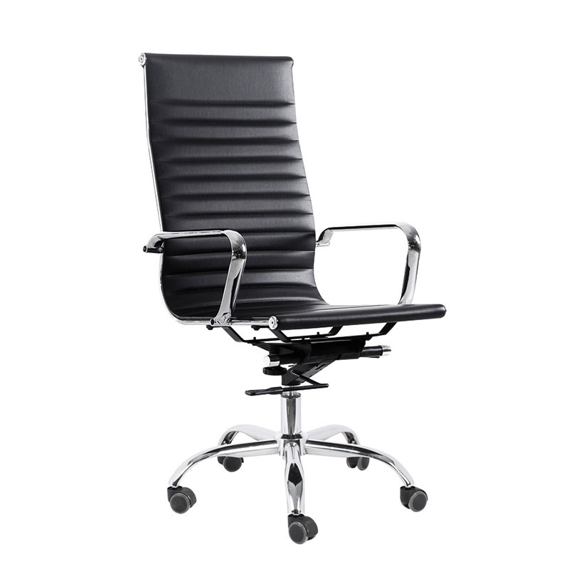 High back executive swivel leather office chairs