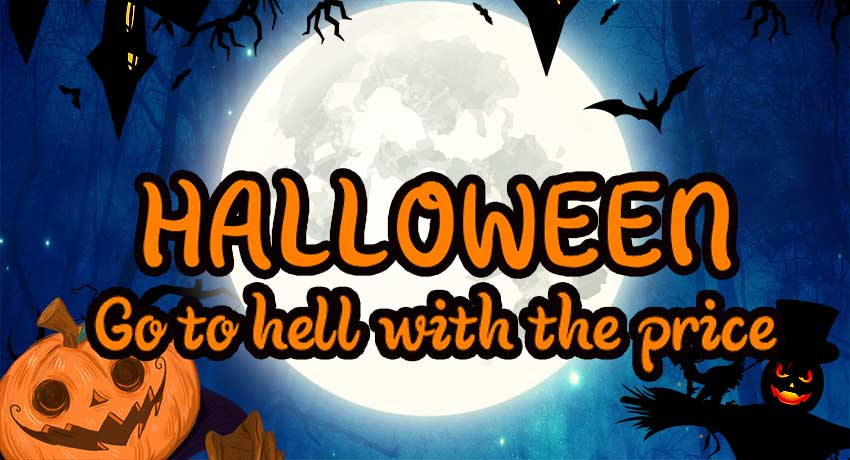 Halloween is here, so go to hell with the price