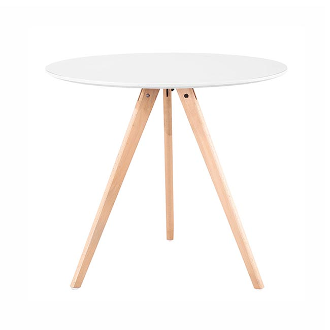 cheap hot sale formal wood legs white dining room tables