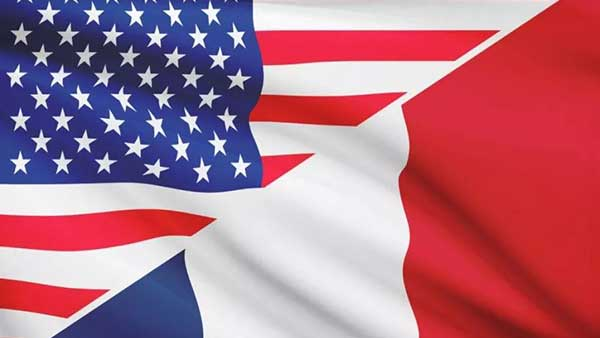 The us is to impose tariffs on $2.4bn of French goods