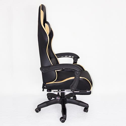 golden multifunctional gaming style office chair wholesale