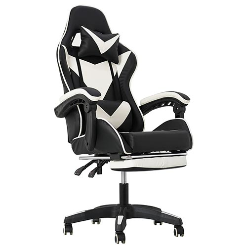 2020 new hot sale comfortable recling gaming chair with footrest