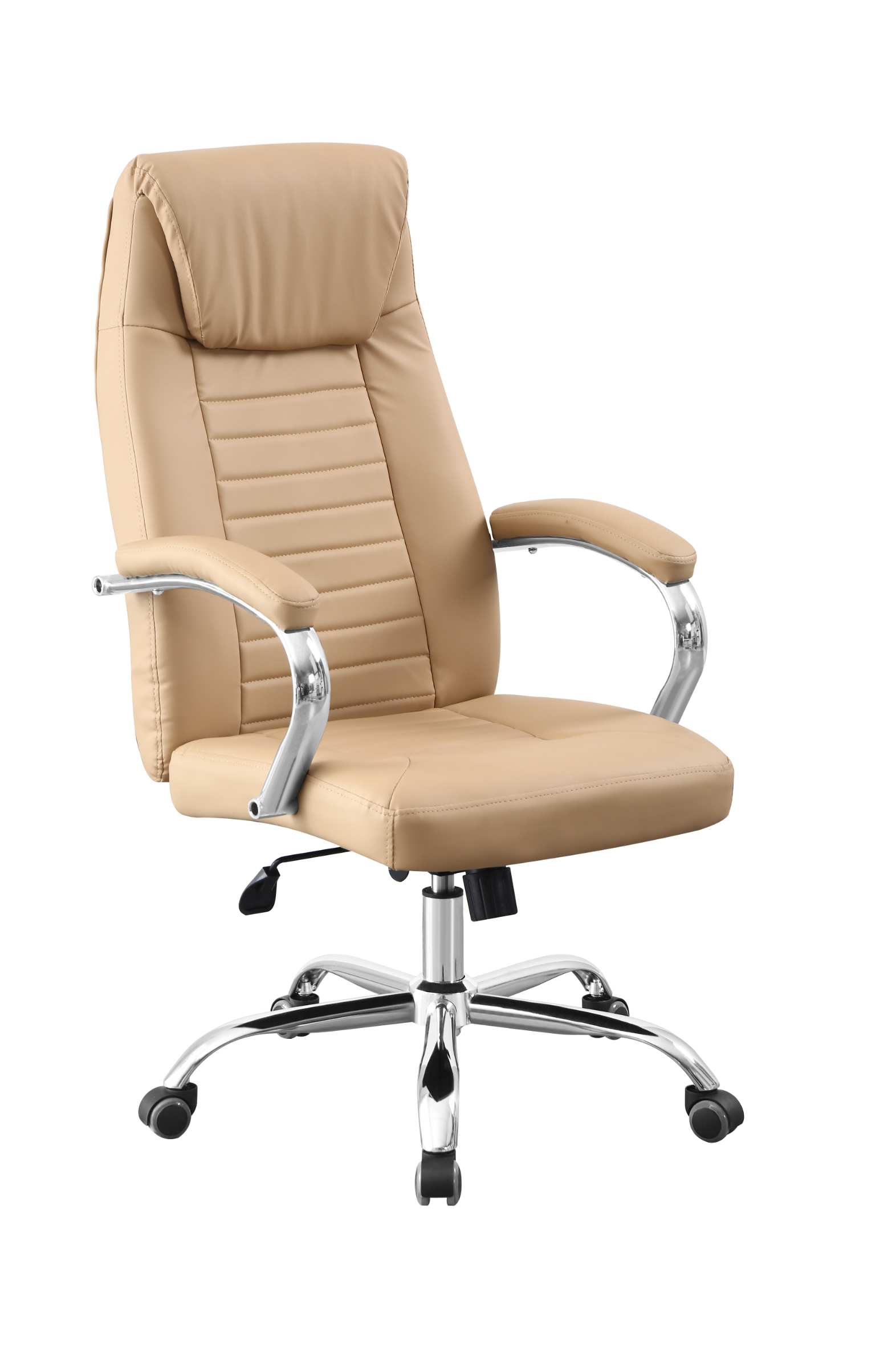 E-commerce supplies 2021 new office chairs to help you sell hot, comfortable leather seats with 360 ° rotation and up and down adjustment