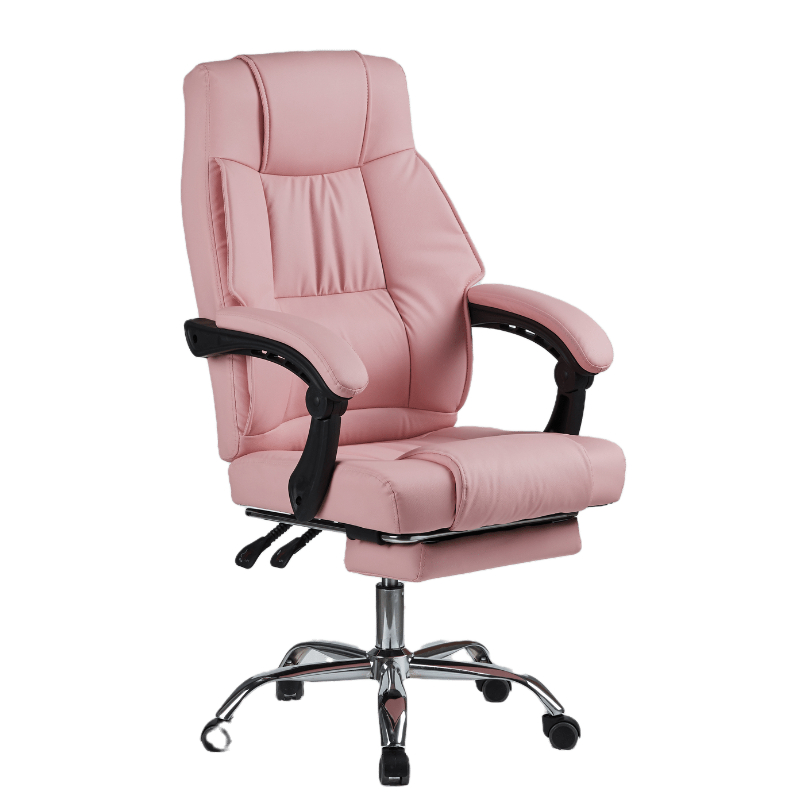 2021 new hot sale office chair boss chair leather rotation 360 degrees adjustable up and down factory sale made in china