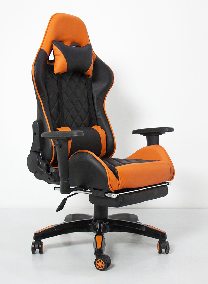 Hot selling high back cheap gaming chair pc computer chair gaming with footrest