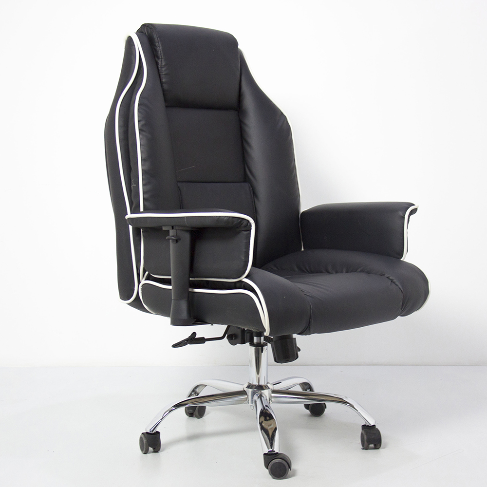 2021 new pu leather boss swivel revolving manager executive office chair wholesale