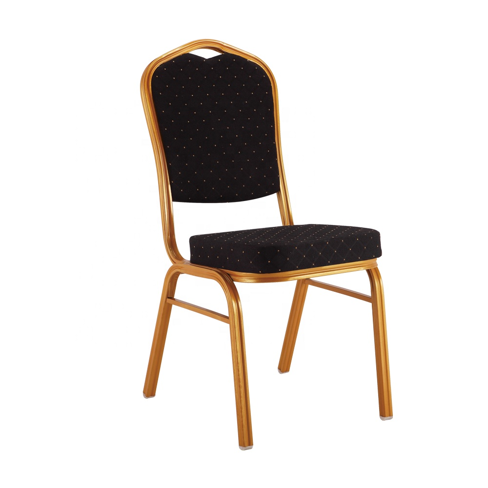 cheap used iron steel Events stackable royal aluminum hotel banquet chair