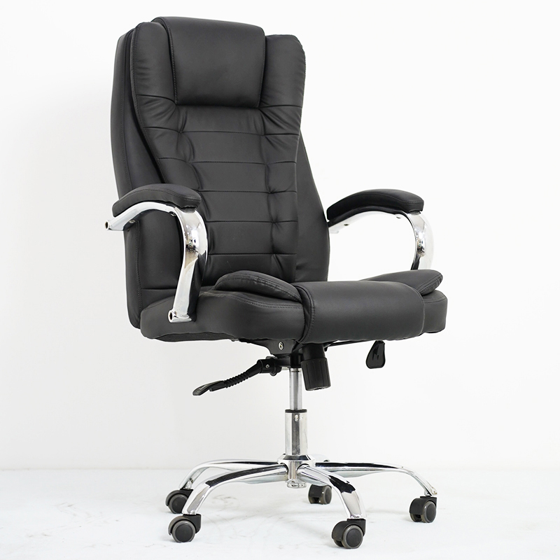 Popular Pu Leather High Back Swivel Chair For Home Use And Office
